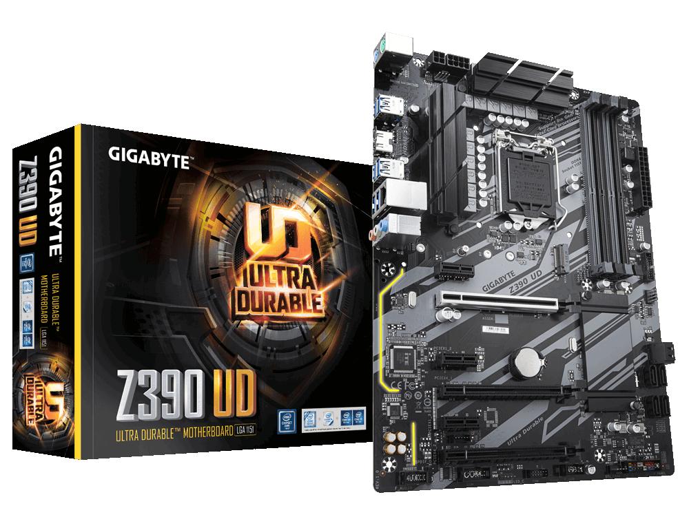 GIGABYTE Z390 UD Motherboard Socket 1151 - 8th Gen+ CPU