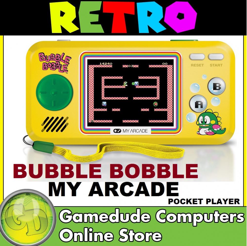 My Arcade Retro Bubble Bobble Pocket Player Full Color 2
