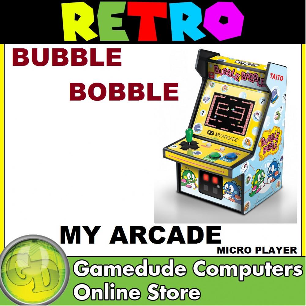 My Arcade Retro Bubble Bobble Micro Player Full Color 2 75