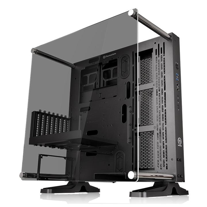 Thermaltake Core P3 Tg Wall Mount Black Sgcc Atx Open Frame Case No