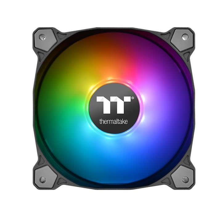ThermalTake Pure12 ARGB Sync Radiator Fan Kit - Fan x 3 - Controller x 1 -  MODEL:CL-F079-PL12SW-A