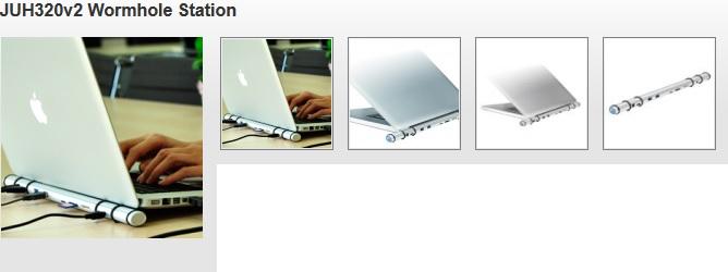 J5 CREATE JUH320-V2 USB 3 0 MAC / Windows Wormhole Docking Station