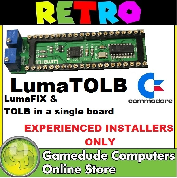 MOS 8701 replacement for Commodore 64 C64 128 TOLB PAL