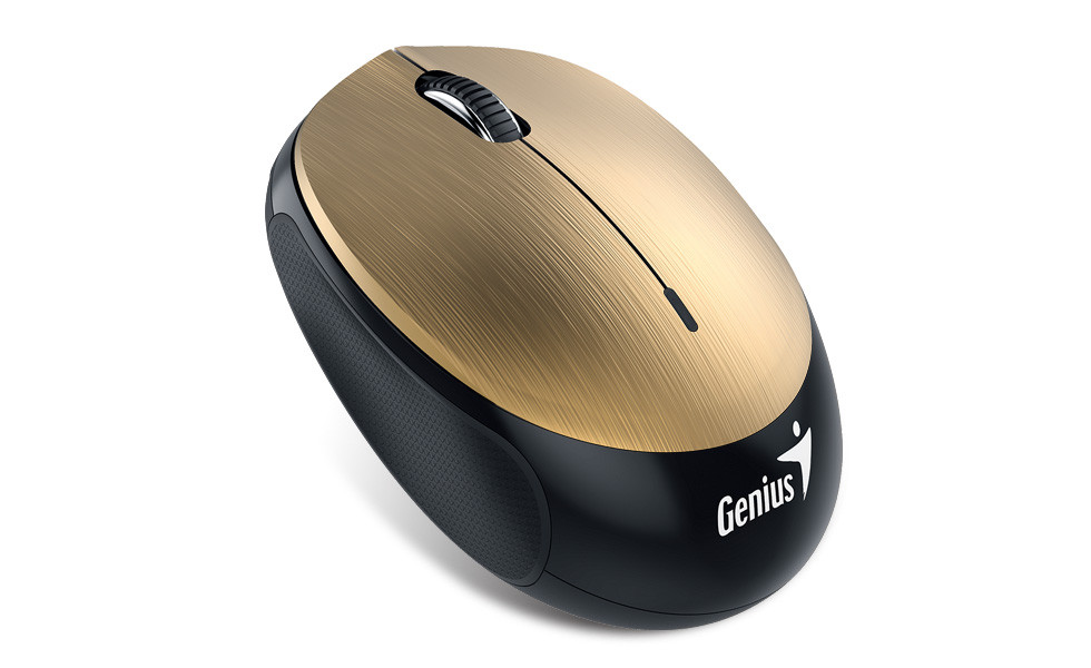 19ce78a9106 Genius NX-9000BT Gold BLUETOOTH Mouse Android 4.3 - Win 8.1 - MAC 10 or  later OS mouGEnx9000bt_gold