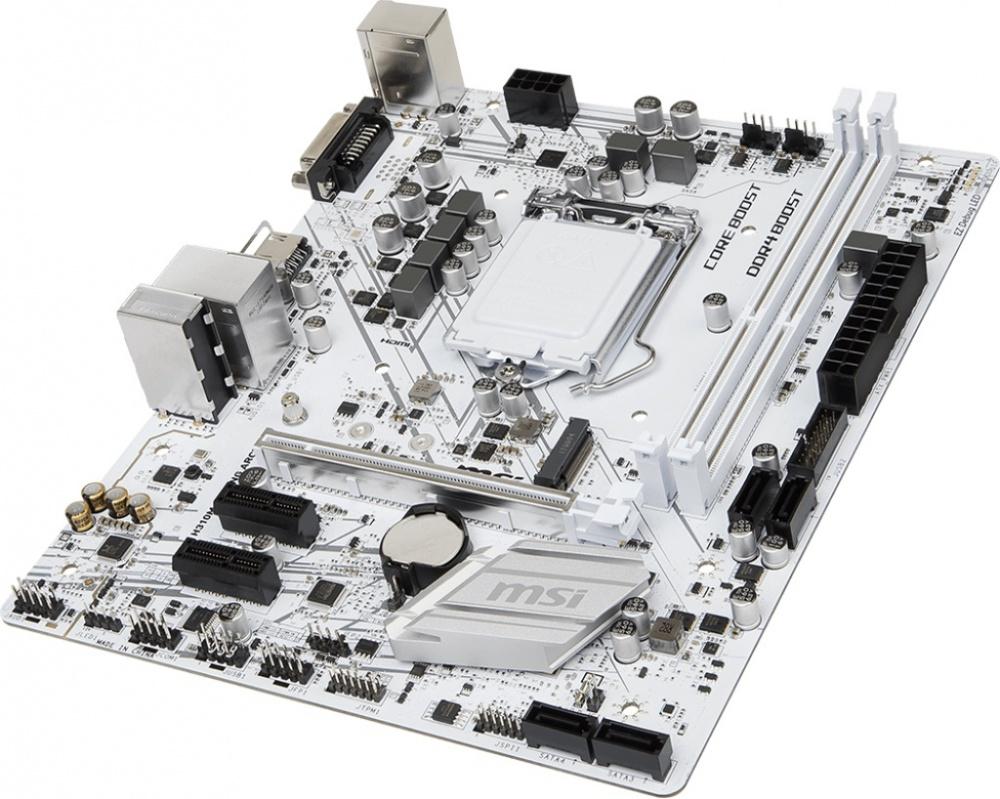 Usb Charging Hub >> MSI H310M GAMING ARCTIC MOTHERBOARD - LGA1151 - M.2 - mini ITX - GameDude Computers