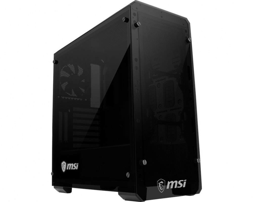 Msi Mag Bunker Mid Tower Case Double Tempered Glass
