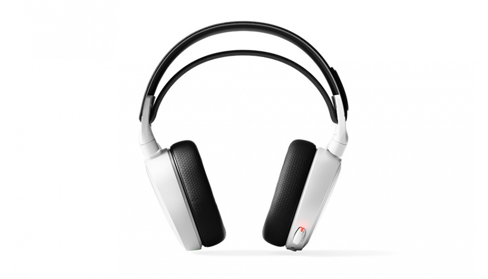 fashion style available san francisco STEELSERIES ARCTIS 7 White 2.4Ghz Wireless Gaming Headset ...