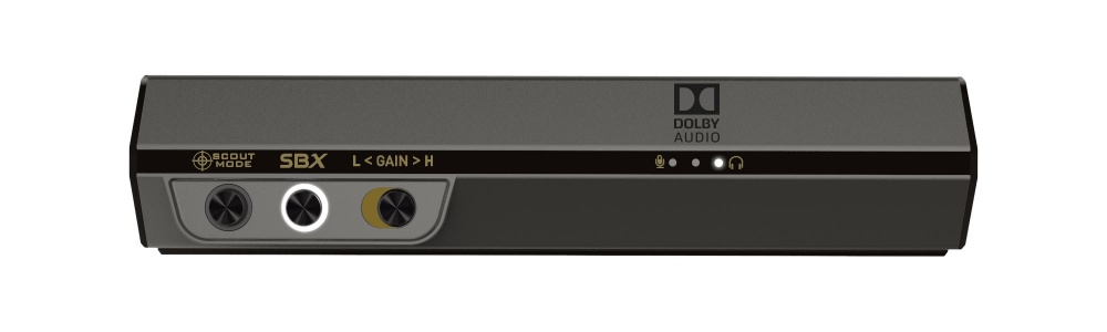 Sound BlasterX G6 USB Sound Card Hi-Res Gaming DAC with H/S BI-AMP Model:  SB1770
