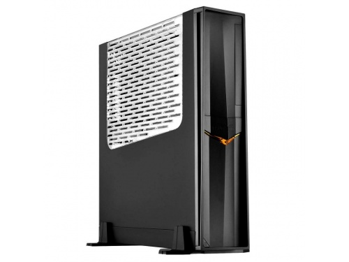 SilverStone RAVEN Series SFF Desk/Tower Case No PSU - Mini DTX / ITX - USB 3.0 - BLACK WINDOW MODEL : SST-RVZ02B-W