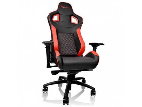 THERMALTAKE GTF 100 Black and Red Gaming Chair FIT Series GC-GTF-BRMFDL-01