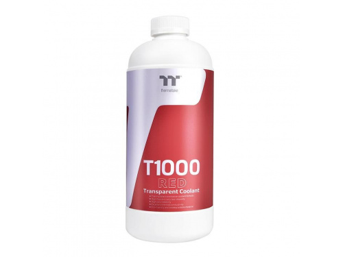 ThermalTake T1000 RED Transparent Coolant Model: CL-W245-OS00RE-A
