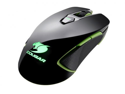 Cougar 450M Black RGB Gaming Mouse 8 Programmable Buttons DPI 5000 Model (CGR-WOMB-450)