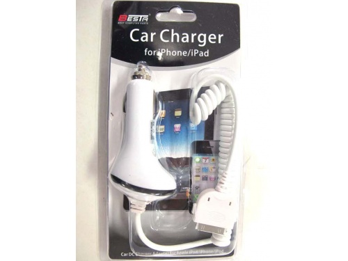 BESTA Car Charger for iPhone4/iPad W-10073