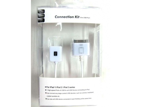 USB to iPhone / iPad Connection Kit AD-i4-USB