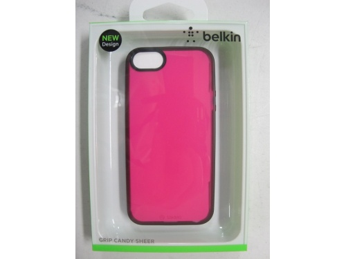 BELKIN Black Trim /Candy Sheer Back Case For iPhone 5 and iPhone 5s F8W138qec03