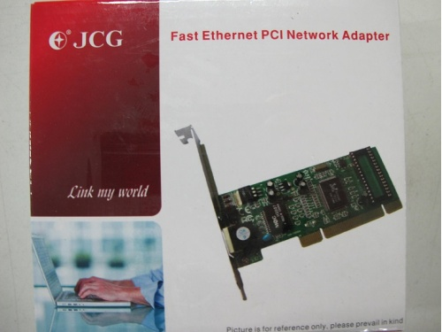 JCG Gigabit Ethernet Card MODEL:JEN-6588 PCI-Slot 10/100/1000 32bit