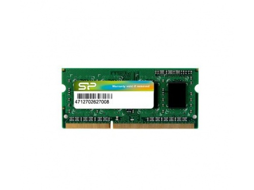SILICON POWER 4gb DDR3-L 1600MHz SO-DIMM 1.35/1.5volt MODEL : SP004GLSTU160N