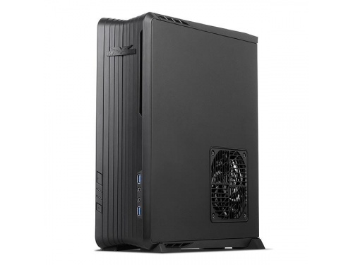 SilverStone RAVEN Series SFF Desk/Tower Case No PSU - Mini DTX / ITX - USB 3.0 - BLACK MODEL : SST-RVZ01B