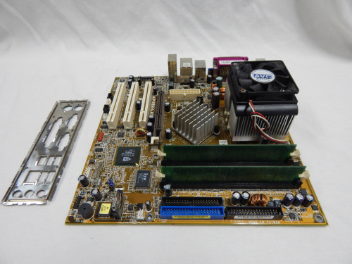 COMPAQ / ASUS A7N8X-LA (SocketA) + AMD XP 2400 + 256mb DDR Ram (2x 128mb) + AMD Cooler