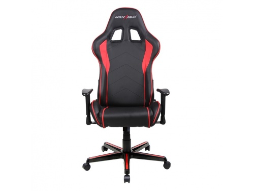 DXRacer FL08 RED Series Gaming Chair Sparco Style Neck Lumbar Support