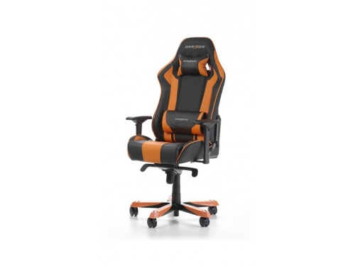 DXRacer KS06 ORANGE King Series Gaming Chair Style Neck Lumbar Support