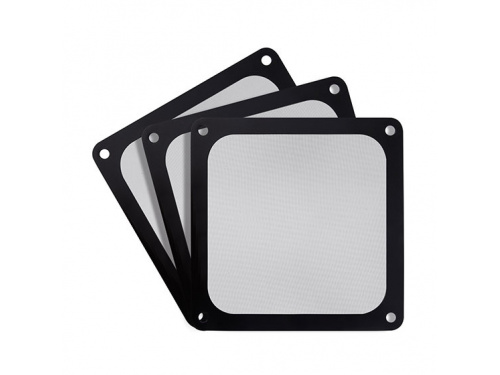 SilverStone 140mm Ultra Fine Magnetic Fan Filter - 3 Pack - MODEL : SST-FF143B-3PK