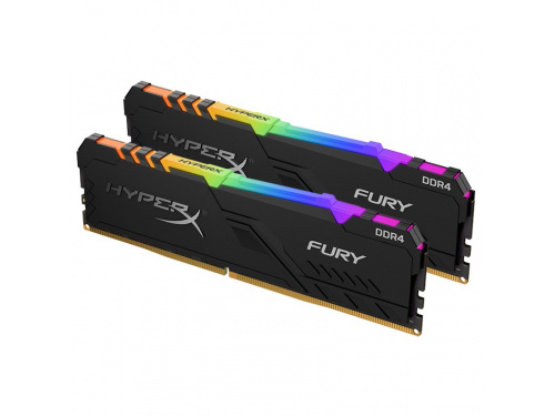 Kingston HYPER-X 32GB KIT RGB DDR4 3200Mhz (2x 16gb) Desktop Memory HX432C16FB3AK2/32