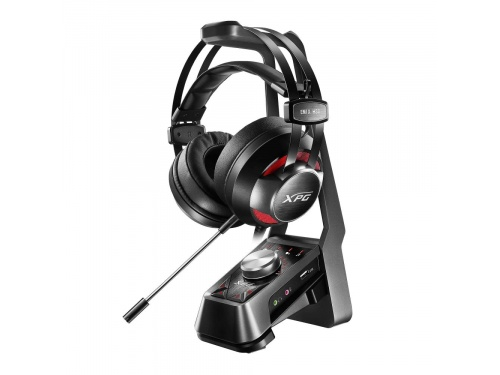 ADATA XPG EMIX H30 Gaming Headset + Solox F30 Amplifier + Stand MODEL : SOLOX F30+EMIX H30