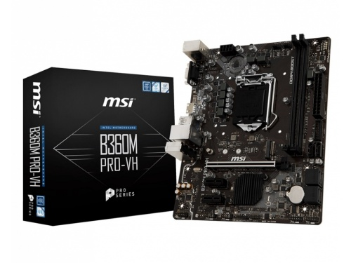 MSI B360M PRO-VH - Pro Series - LGA 1151 - m.2 - Audio Boost