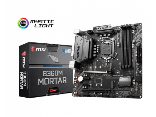 MSI B360M MORTAR - Arsenal Gaming - LGA 1151 - DDR4 - m.2
