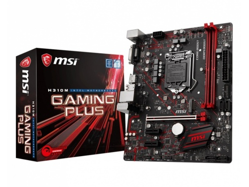 MSI H310M GAMING PLUS MOTHERBOARD - LGA1151 - DDR4 - mATX